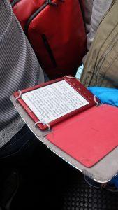 E-Reader Sony Rojo