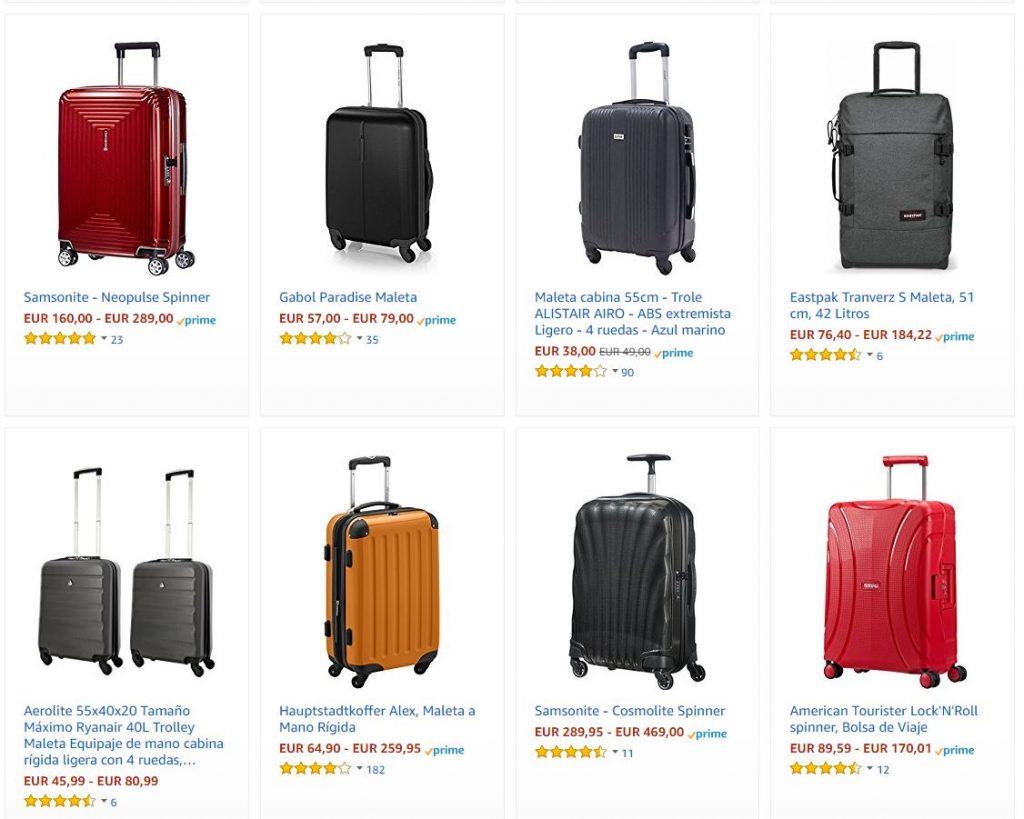 Mejores equipajes de mano