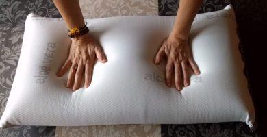 mejores almohadas viscoelásticas de Aloe Vera